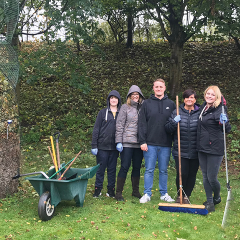 Close Brothers Motor Finance employees volunteered an impressive 818 hours of their time for charity initiatives in October