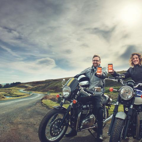 Close Brothers Motor Finance partners with REALRIDER motorcycle safety app